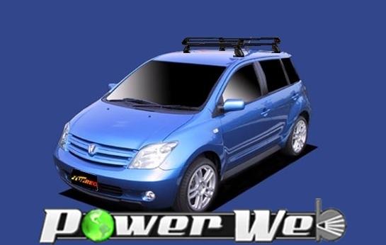 [PE22B1] TUFREQ (精興工業 タフレック) ルーフキャリア Pシリーズ トヨタ ist 全車 H14.5~H19.7 NCP60/NCP61/NCP65 【沖縄/離島発送不可商品】