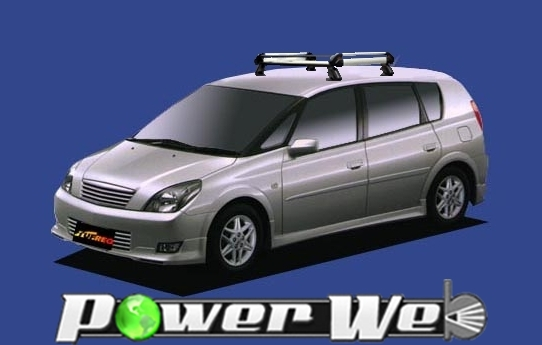 [HE22A1] TUFREQ (精興工業 タフレック) ルーフキャリア Hシリーズ トヨタ Opa 全車 H12.5~H17.8 ACT10/ZCT10/ZCT15 【沖縄/離島発送不可商品】