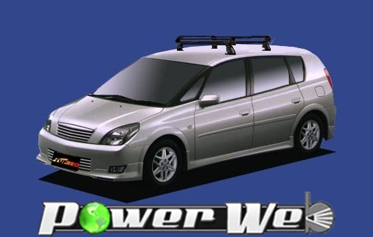 [PE22A1] TUFREQ (精興工業 タフレック) ルーフキャリア Pシリーズ トヨタ Opa 全車 H12.5~H17.8 ACT10/ZCT10/ZCT15 【沖縄/離島発送不可商品】