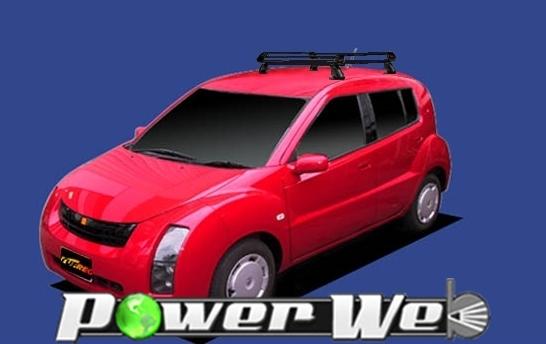 [PE22B1] TUFREQ (精興工業 タフレック) ルーフキャリア Pシリーズ トヨタ WiLL サイファ 全車 H14.10~H17.8 NCP7# 【沖縄/離島発送不可商品】