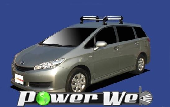 [HE22C1] TUFREQ (精興工業 タフレック) ルーフキャリア Hシリーズ トヨタ WISH 全車 H21.4~ ZGE2# 【沖縄/離島発送不可商品】
