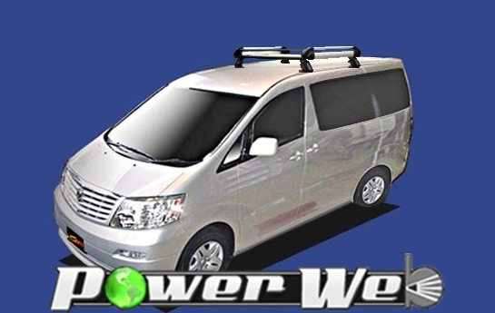 [HE42J01] TUFREQ (精興工業 タフレック) ルーフキャリア Hシリーズ トヨタ アルファード 全車 H14.5~H20.5 MNH10W/ANH10W 【沖縄/離島発送不可商品】