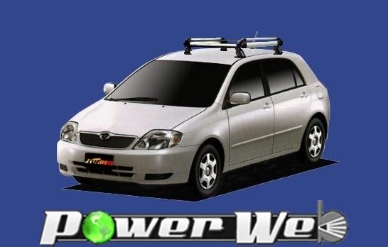 [HE22A1] TUFREQ (精興工業 タフレック) ルーフキャリア Hシリーズ トヨタ カローラランクス 全車 H13.1~H18.10 E12# 【沖縄/離島発送不可商品】