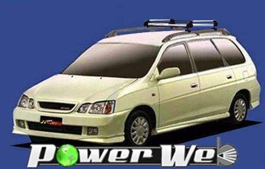 [HR22] TUFREQ (精興工業 タフレック) ルーフキャリア Hシリーズ トヨタ ガイア ルーフレール付車 H10.5~H16.8 XM1#G/CM1#G 【沖縄/離島発送不可商品】