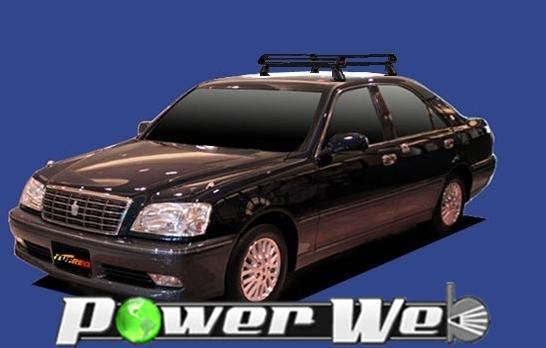 [PE22B1] TUFREQ (精興工業 タフレック) ルーフキャリア Pシリーズ トヨタ クラウンロイヤル 全車 H11.9~H15.12 S17# 【沖縄/離島発送不可商品】