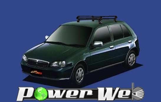 [PE22A1] TUFREQ (精興工業 タフレック) ルーフキャリア Pシリーズ トヨタ スターレット 5ドア車 H8.1~H11.7 P9# 【沖縄/離島発送不可商品】