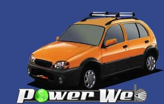 [HR22] TUFREQ (精興工業 タフレック) ルーフキャリア Hシリーズ トヨタ スターレット REMIX H10.10~H11.7 P9# 【沖縄/離島発送不可商品】