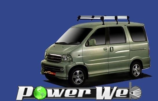 [HL236A] TUFREQ (精興工業 タフレック) ルーフキャリア Hシリーズ トヨタ スパーキー ロールーフ H14.6~H15.3 S221#/S231# 【沖縄/離島発送不可商品】