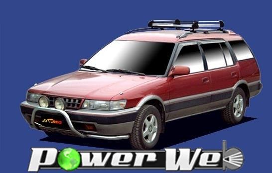 [HR22] TUFREQ (精興工業 タフレック) ルーフキャリア Hシリーズ トヨタ スプリンターカリブ ルーフレール付車 H2.9~H7.8 AE95G 【沖縄/離島発送不可商品】