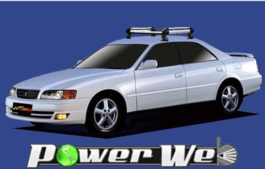 [HE22E1] TUFREQ (精興工業 タフレック) ルーフキャリア Hシリーズ トヨタ チェイサー 全車 H8.9~H13.6 X10# 【沖縄/離島発送不可商品】