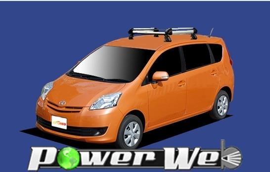 [HE22C1] TUFREQ (精興工業 タフレック) ルーフキャリア Hシリーズ トヨタ パッソセッテ 全車 H20.12~ M502E 【沖縄/離島発送不可商品】