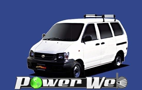 [HL22] TUFREQ (精興工業 タフレック) ルーフキャリア Hシリーズ トヨタ ライトエースバン 標準ルーフ H8.10~H19.7 R4#/R5# 【沖縄/離島発送不可商品】