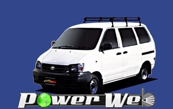 [PL23] TUFREQ (精興工業 タフレック) ルーフキャリア Pシリーズ トヨタ ライトエースバン 標準ルーフ H8.10~H19.7 R4#/R5# 【沖縄/離島発送不可商品】