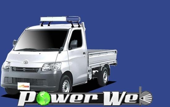 [CL321A] TUFREQ (精興工業 タフレック) トラック用キャリア Cシリーズ トヨタ ライトエーストラック シングルキャブ H20.2~ S402U 【沖縄/離島発送不可商品】