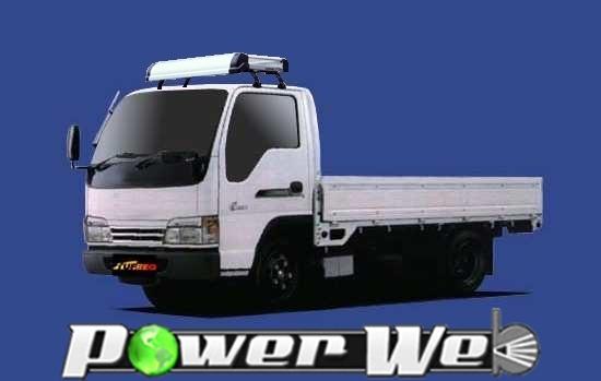 [KL42] TUFREQ (精興工業 タフレック) トラック用キャリア Kシリーズ 日産 アトラス20系 標準キャブ H7.5~H24.11 APS/AKR/AJR 【沖縄/離島発送不可商品】