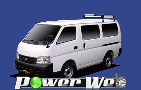 [HL42] TUFREQ (精興工業 タフレック) ルーフキャリア Hシリーズ 日産 キャラバン 標準ルーフ H13.5~H24.6 E25 【沖縄/離島発送不可商品】