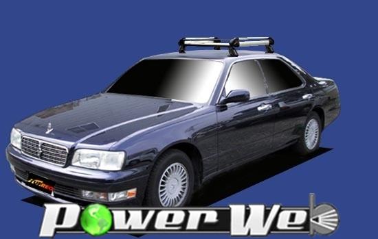 [HE22A1] TUFREQ (精興工業 タフレック) ルーフキャリア Hシリーズ 日産 グロリア 全車 H7.6~H11.6 Y33 【沖縄/離島発送不可商品】