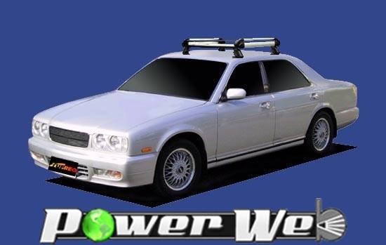 [HE22A1] TUFREQ (精興工業 タフレック) ルーフキャリア Hシリーズ 日産 グロリア 全車 H3.6~H7.6 Y32 【沖縄/離島発送不可商品】