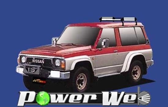 [HL42] TUFREQ (精興工業 タフレック) ルーフキャリア Hシリーズ 日産 サファリ 標準ルーフ(2ドア) S55.6~H9.10 Y16#/Y60 【沖縄/離島発送不可商品】