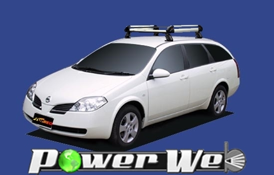 [HE22C1] TUFREQ (精興工業 タフレック) ルーフキャリア Hシリーズ 日産 プリメーラワゴン ルーフレール無車 H13.1~H17.11 P12 【沖縄/離島発送不可商品】