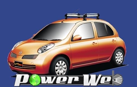 [HE22F1] TUFREQ (精興工業 タフレック) ルーフキャリア Hシリーズ 日産 マーチ 5ドア車 H14.3~H22.7 K12 【沖縄/離島発送不可商品】