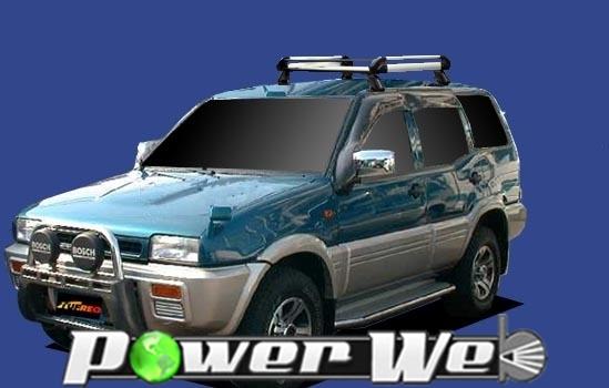 [HE22A2] TUFREQ (精興工業 タフレック) ルーフキャリア Hシリーズ 日産 ミストラル 4ドア車 H6.6~H10.8 R20 【沖縄/離島発送不可商品】