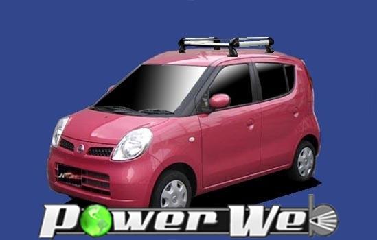 [HE22B1] TUFREQ (精興工業 タフレック) ルーフキャリア Hシリーズ 日産 モコ 全車 H18.1~H23.2 MG22S 【沖縄/離島発送不可商品】