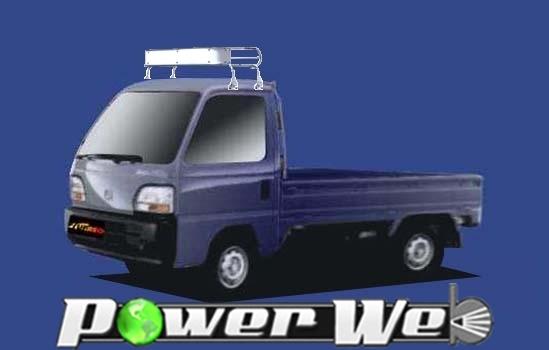 [CL22] TUFREQ (精興工業 タフレック) トラック用キャリア Cシリーズ ホンダ アクティトラック 全車 H1.3~H11.5 HA3/HA4/HA5 【沖縄/離島発送不可商品】