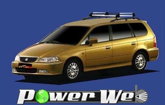 [HR22] TUFREQ (精興工業 タフレック) ルーフキャリア Hシリーズ ホンダ オデッセイ ルーフレール付車 H11.12~H15.10 RA6~9 【沖縄/離島発送不可商品】