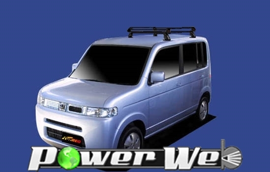 [PE42C1] TUFREQ (精興工業 タフレック) ルーフキャリア Pシリーズ ホンダ ザッツ 全車 H14.2~H19.6 JD1/JD2 【沖縄/離島発送不可商品】