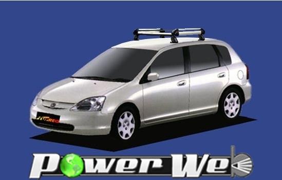 [HE22B1] TUFREQ (精興工業 タフレック) ルーフキャリア Hシリーズ ホンダ シビック 全車 H12.9~H17.9 EU 【沖縄/離島発送不可商品】