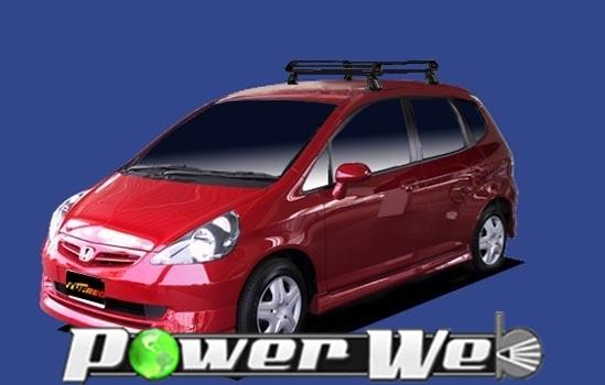 [PE22C1] TUFREQ (精興工業 タフレック) ルーフキャリア Pシリーズ ホンダ フィット 全車 H13.6~H19.10 GD# 【沖縄/離島発送不可商品】