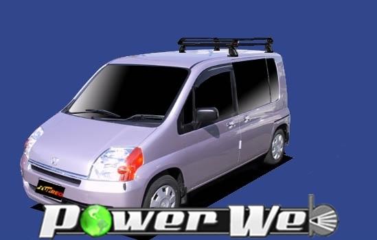 [PE42A1] TUFREQ (精興工業 タフレック) ルーフキャリア Pシリーズ ホンダ モビリオ 全車 H13.12~H20.4 GB# 【沖縄/離島発送不可商品】