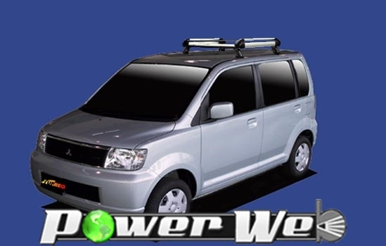 [HE22A1] TUFREQ (精興工業 タフレック) ルーフキャリア Hシリーズ 三菱 eKワゴン 全車 H13.10~H18.8 H81W 【沖縄/離島発送不可商品】
