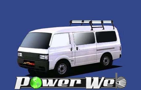 [HH43] TUFREQ (精興工業 タフレック) ルーフキャリア Hシリーズ 三菱 デリカカーゴ 全車 H11.11~H22.7 SK# 【沖縄/離島発送不可商品】