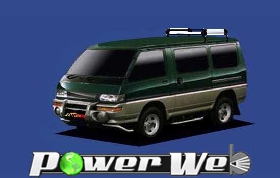 [HL42] TUFREQ (精興工業 タフレック) ルーフキャリア Hシリーズ 三菱 デリカスターワゴン エアロルーフ車 S61.6~H11.7 P35 【沖縄/離島発送不可商品】