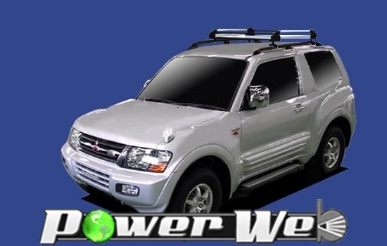[HR42] TUFREQ (精興工業 タフレック) ルーフキャリア Hシリーズ 三菱 パジェロ ルーフレール付車(ショート) H11.9~H18.10 V65W/V68W 【沖縄/離島発送不可商品】