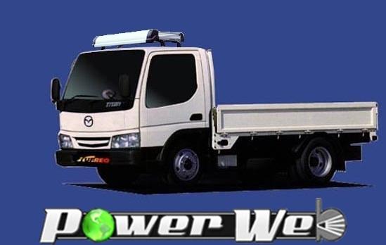 [KF425C] TUFREQ (精興工業 タフレック) トラック用キャリア Kシリーズ マツダ タイタン 標準キャビン H12.5~H19.1 WH 【沖縄/離島発送不可商品】
