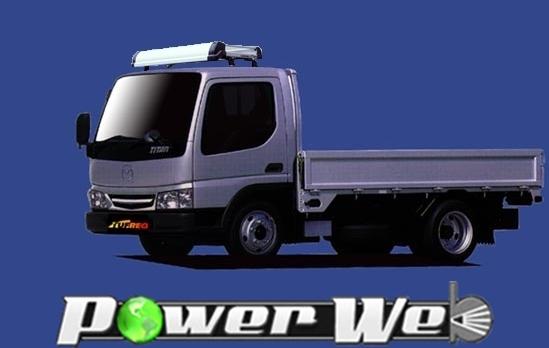 [KF425D] TUFREQ (精興工業 タフレック) トラック用キャリア Kシリーズ マツダ タイタン 標準キャビンハイルーフ H12.5~H19.1 WH
