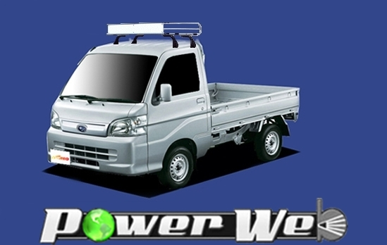 [CL228A] TUFREQ (精興工業 タフレック) トラック用キャリア Cシリーズ スバル サンバートラック 標準ルーフ H24.3~ S201J/S211J 【沖縄/離島発送不可商品】