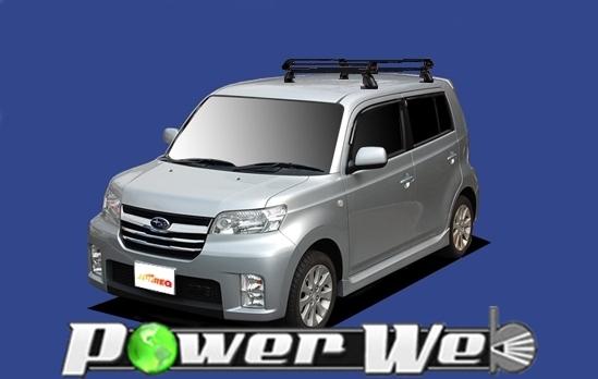[PE42C1] TUFREQ (精興工業 タフレック) ルーフキャリア Pシリーズ スバル デックス 全車 H20.11~ M401F/M411F 【沖縄/離島発送不可商品】