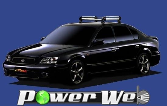 [HE22E1] TUFREQ (精興工業 タフレック) ルーフキャリア Hシリーズ スバル レガシィB4 全車 H10.12~H15.5 BE 【沖縄/離島発送不可商品】