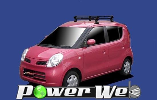 [PE22B1] TUFREQ (精興工業 タフレック) ルーフキャリア Pシリーズ スズキ MRワゴン 全車 H18.1~H23.1 MF22S 【沖縄/離島発送不可商品】