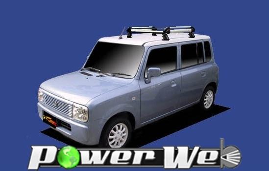 [HE22C1] TUFREQ (精興工業 タフレック) ルーフキャリア Hシリーズ スズキ ラパン 全車 H14.1~H20.11 HE21S 【沖縄/離島発送不可商品】