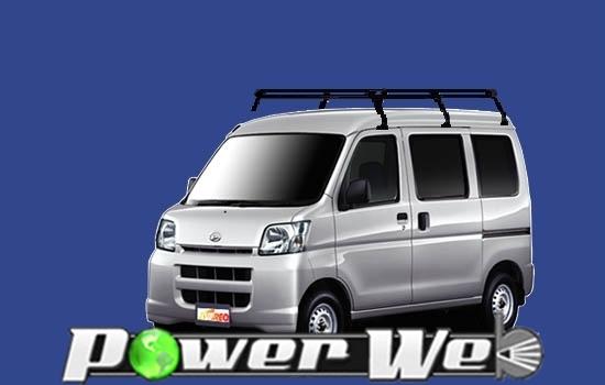 [PH236C] TUFREQ (精興工業 タフレック) ルーフキャリア Pシリーズ ダイハツ アトレーワゴン 全車 H17.5~ S320G/S330G 【沖縄/離島発送不可商品】