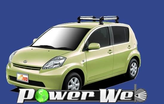 [HE22B1] TUFREQ (精興工業 タフレック) ルーフキャリア Hシリーズ ダイハツ ブーン 全車 H16.6~H22.2 M3# 【沖縄/離島発送不可商品】