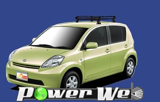 [PE22B1] TUFREQ (精興工業 タフレック) ルーフキャリア Pシリーズ ダイハツ ブーン 全車 H16.6~H22.2 M3# 【沖縄/離島発送不可商品】