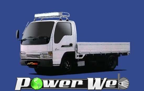 [CL42] TUFREQ (精興工業 タフレック) トラック用キャリア Cシリーズ イスズ エルフ 標準キャブ H5.10~ NKR/NHR/NJR 【沖縄/離島発送不可商品】