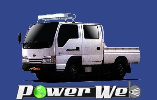 [CL42] TUFREQ (精興工業 タフレック) トラック用キャリア Cシリーズ イスズ エルフ ダブルキャブ H5.10~H18.12 NKR
