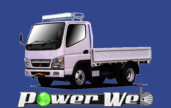 [CF423D] TUFREQ (精興工業 タフレック) トラック用キャリア Cシリーズ 三菱ふそう キャンター 標準キャブ H14.6~ FE7# 【沖縄/離島発送不可商品】